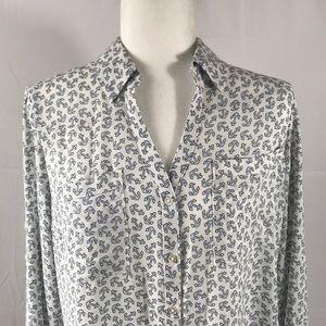 Express Tops - Express-Portfino shirt, anchor print, size L
